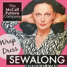 Wrap Dress Sewalong.  Are you ready for a sewalong, because we are! You gave a thumbs up when we posed the idea of a wrap dress sewalong, and frankly, we were hoping you'd go for something a little less complex after th...