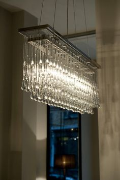 Ochre Lighting rectangular chandelier