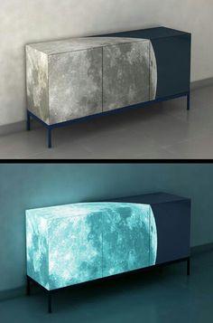 It's never dark with this limited edition cabinet  www.bocadolobo.com #luxuryfurniture #exclusivedesign #designideas #interiordesign #livingroomideas #limitededitionfurniture #cabinetsideas #limitedcabinets
