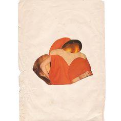 Naranja / Orange  30x21cm paper collage