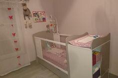 Le lit bébé évolutif Jooly lin de Chloé  #lit #bébé #évolutif