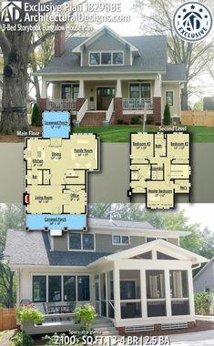 Plan 18298BE: 3-Bed Storybook Bungalow House Plan - Margaret Feland - #18298BE #3Bed #Bungalow #Feland #House #Margaret #Plan #Storybook
