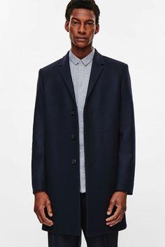 COS image 10 of Tailored coat in Indigo