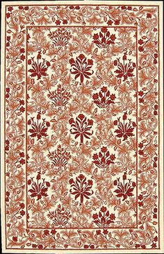 Nourison - Nourison Country Heritage H-664 Ivory Red Area Rug Clearance #51760