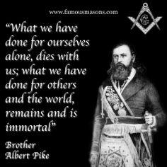 Brother Albert Pike