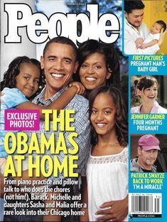 People magazine President Barack and Michelle Obama Corey Haim and Feldman