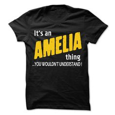 (Tshirt Amazing Choose) It is AMELIA Thing 99 Cool Name Shirt Teeshirt Online Hoodies, Tee Shirts