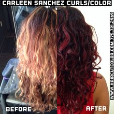 Bleach to Beautiful Violet Red Balayage by Carleen Sanchez