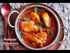 Kerala Chicken Curry - 'ThattuKada Chicken Curry' - Recipes 'R' Simple