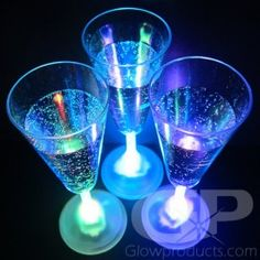 Champagne Flutes - Bring on the Bubbly with our 8 mode Champagne glasses! - https://glowproducts.com/us/light-up-led-champagne-glasses-multi-color