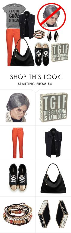 """""""I'm Not Your Average Grandma"""" by glamourgrammy on Polyvore featuring Acne Studios, LE3NO and Michael Kors"""
