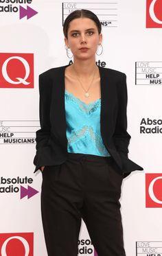 Ellie Rowsell at DuckDuckGo Q Awards, Dio, Metalhead, Wolf, Alice, London, Portrait, Fashion, Musica