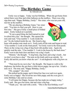 3rd Grade Reading Comprehension Worksheets, Reading Comprehension Passages, Reading Strategies, Reading Skills, Comprehension Strategies, Reading Response, Third Grade Reading, Student Reading, Have Fun Teaching