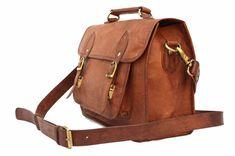 Leather Camera Bag / Satchel / Messenger Bag  by LeftoverStudio, $119.00