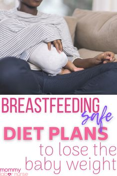 Not Losing Weight While Breastfeeding? Mama. I hear this all too often. Losing weight while breastfeeding requires some very specific diet modifications that encourage a healthy milk supply, while also losing weight! I put together a roundup of five diet plans out there that I think are perfectly healthy for breastfeeding mamas to follow, which will promote a healthy milk supply as well as weight loss!