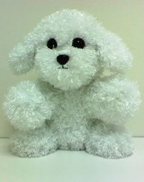 White Puppy - 8 Inch  The Kit includes:  The animal skin  Stuffing  A Wish Star Adoption certificate  Full instructions