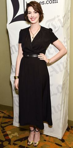 January 18, 2015 - Anne Hathaway #InStyle
