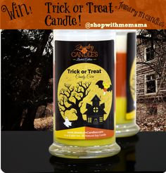 Trick Or Treat Candle By Jewelry In Candles (Giveaway!) #giftguide
