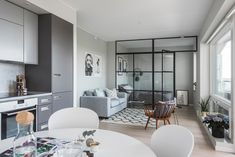 Small Home Layout 315040936435163163 - Appartement Source by Condo Interior, Living Room Interior, Interior Design, Studio Apartment Layout, Studio Apartment Decorating, Small Apartment Design, Small Appartment, Deco Studio, Tiny Apartments