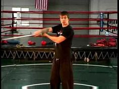 Bo Staff Attack Techniques : Bo Staff: Fake Neck Roll & Loop Combo. Martial arts drills