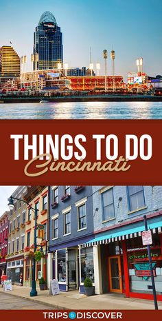 Top 10 Things to Do in Cincinnati Ohio. Great idea for a road trip if you live in Ohio or the Midwest. Dayton Ohio, Cleveland Ohio, Columbus Ohio, Cincinatti Ohio, The Buckeye State, Ohio River, Vacation Places, Vacations, Weekend Trips