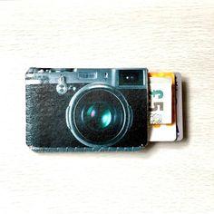 Retro Camera Card Holder