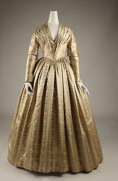 Dress Date: ca. 1843 Culture: American Accession Number: C.I.40.106.38