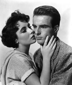 Elizabeth Taylor and Montgomery Clift - A Place in the Sun