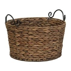 Round Woven Basket, Large