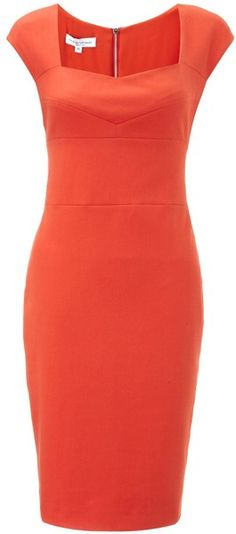NARCISCO RODRIGUEZ Cotton Pencil Dress - Lyst