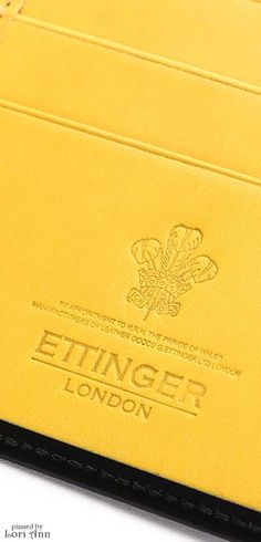 ~Ettinger London Wallet | The House of Beccaria