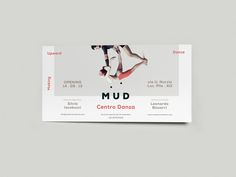 MUD by Augusto Arduini, via Behance