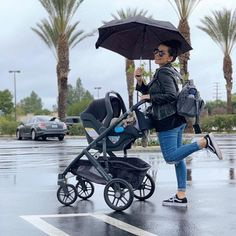 New mom, Candice strolls her adorable little Enzo in the UPPAbaby VISTA and MESA Performance Travel Safety… rain or shine! Check it out and learn more about our new VISTA fashions here. Baby Girl Strollers, Toddler Stroller, Car Seat And Stroller, Uppababy Stroller, Convertible Stroller, Reborn Toddler Dolls, Baby Workout, Baby Boutique Clothing, Christians