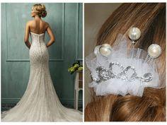 Sehen Sie hier 10 passende Kopfbedeckungen zu 10 Brautkleidern