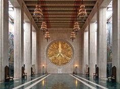 Art Deco, Hall of State, Dallas, Texas, Fair Park