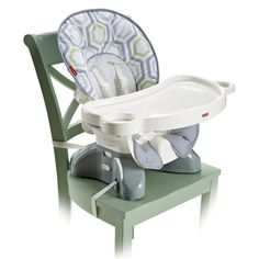 Fisher-Price SpaceSaver High Chair - Geo Meadow - DKR70