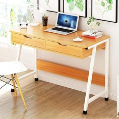 Study Desk Organization, Study Room Kids, Nordic Interior, Office Desk, Corner Desk, Room Decor, Luxury, Furniture, Design