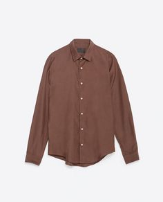 Image 6 of COTTON SILK SHIRT from Zara