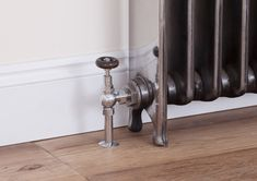 The Brumpton valve in chrome Decor, Traditional Radiators, Door Handles, Home Decor, Chrome