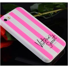 Victoria's Secret Pink Streifen Silikon HandyHülle für iphone 4/4S/5/5S/6/6Plus, Samsung S4/S5/S6/S6edge, Note3 - Prima-Module.Com