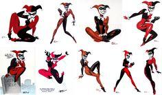 Harley Quinn By Bruce Timm Harley Quinn Tattoo, Joker And Harley Quinn, Injustice 2, Comic Character, Character Design, Der Joker, Joker Art, Hearly Quinn, Bruce Timm