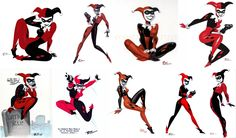Harley Quinn By Bruce Timm