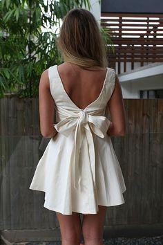 TIE BOW BACK DRESS , DRESSES, NEW ARRIVALS, Australia, Queensland, Brisbane