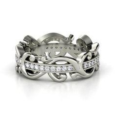 Ten Amazing White Sapphire Engagement Rings