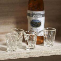 Miniature Bistro Glasses - Kitchen Miniatures - Dollhouse Miniatures - Doll Making Supplies - Craft Supplies