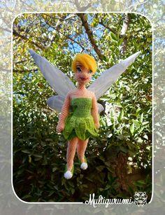 Tinkerbell Amigurumi by Multigurumi.deviantart.com on @DeviantArt