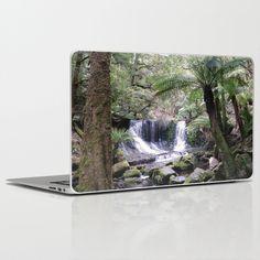 Russell Falls, Tasmania, Australia Laptop & iPad Skin