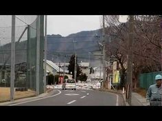 ▶ 2011 Japan Tsunami: the water pouring over the seawall in Miyako [Stabilized] - YouTube