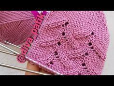 İNCE YAPRAKLI ÇORAP YAPILIŞI - YouTube Knitting Videos, Baby Knitting Patterns, Knitting Socks, Knitting Needles, Border Tiles, Socks, Over Knee Socks, Tejidos, Tricot