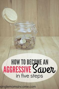 It's important to realize that the people who have lots of savings don't just luck into the money and a lot of them aren't self-made millionaires either. They're regular people like you and me. Sometimes the only differentiating factor is just being an aggressive saver.